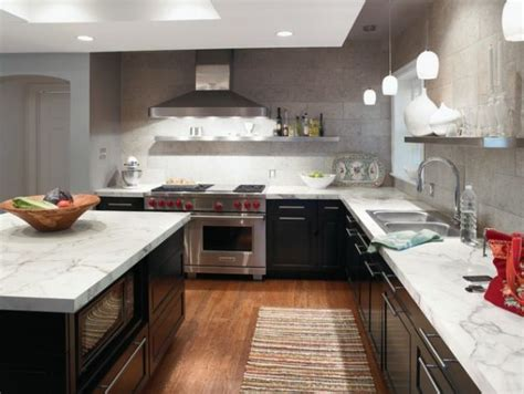 best countertops for kitchens marble kitchen countertops are coming back