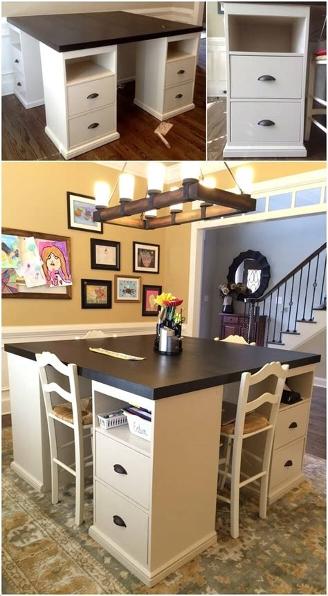 craft room table ideas 10 cool diy craft table ideas for your craft room