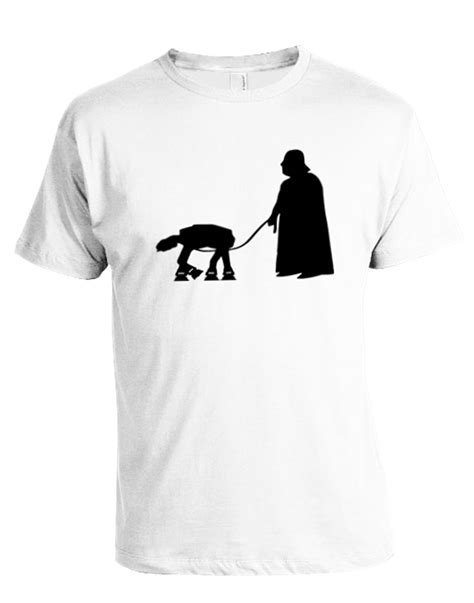 Tshirt Darth Vader darth vader walking at at t shirt