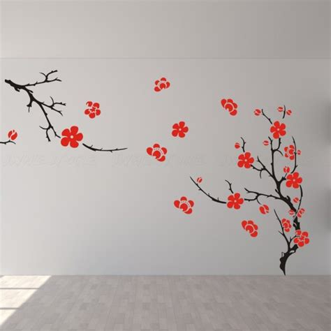 Cherry Blossom Tree Wall Sticker duvar sticker modelleri mobdizayn mobilya ve ev