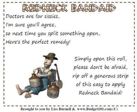 Redneck Bandaid   Downloads   Budget101?