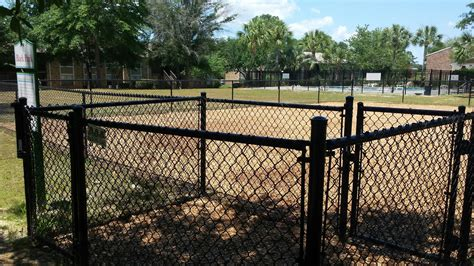 fenced park commercial fencing pictures aaa fence charleston