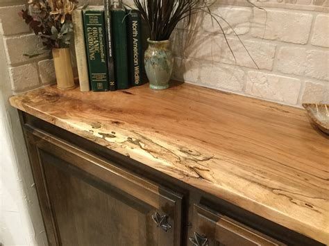 spalted pecan custom wood countertops butcher block custom wood bar top counter tops island tops butcher