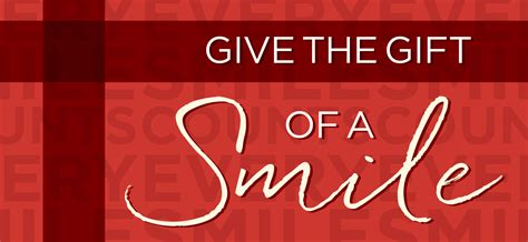 And Give The Gift Of by Give The Gift Of A Smile Hanis Stevenson Orthodontics