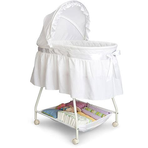 Baby Bassinet Crib by Delta Children S Products Sweet Beginnings Bassinet White