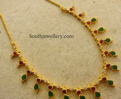 San Ruby 15gram jewellery designs simple necklaces 10 to 15 grams jewellery