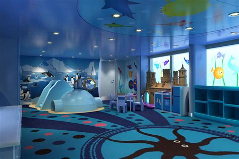 Carnival cruise line introduces new marine themed camp ocean kids program