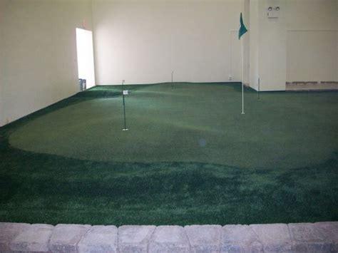 basement putting greens practice greens indoor golf greens