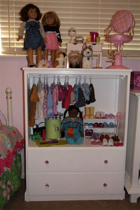 cynde s place american doll cabinet
