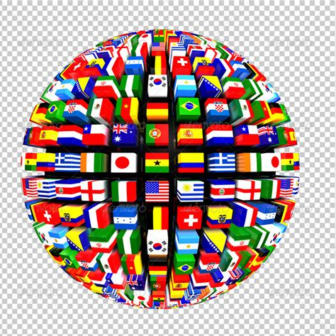 Decorative Item For Home by World Flags Globe Pack By Volkankutlubay Graphicriver