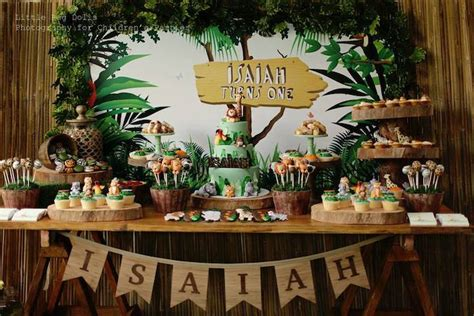 jungle themed birthday party kara s party ideas jungle themed birthday party kara s