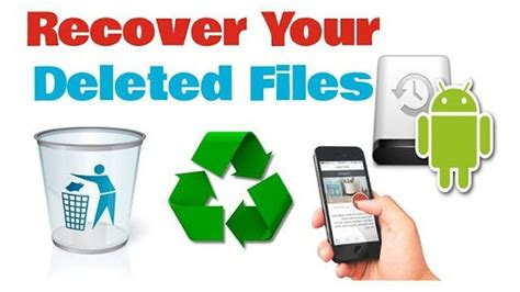 how to recover deleted files on android how to recover deleted files on android