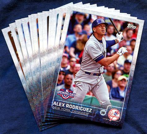 Baseball Gift Card - 2015 topps opening day new york yankees baseball cards team set
