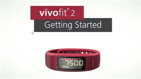 reset vivofit move bar garmin v 237 vofit 2 getting started youtube
