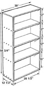 Blueprints For Bookshelves How To Build A Bookcase How To Build A Bookcase