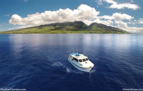 boat from hawaii to maui maui fishing molokini crater