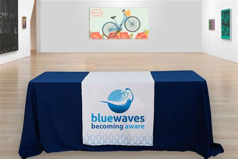 logo table runner cheap table runners in a variety of sizes 4over4