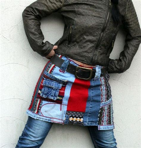 Shape Skirt Denim Shape Skirt Rok Mini Murah 1 the 25 best recycle ideas on denim crafts jean crafts and recycled denim