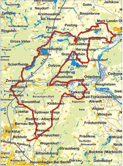 Motorrad Strecken Deutschland by Motorradtour Eiszeit In Der Uckermark