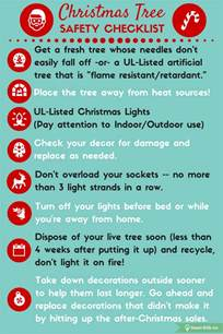 tree lights safety safety checklist smart 101