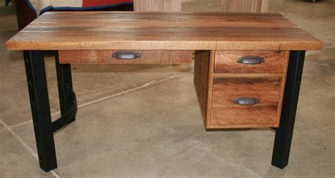 Barnwood Desk by Reclaimed Barnwood Writing Desk