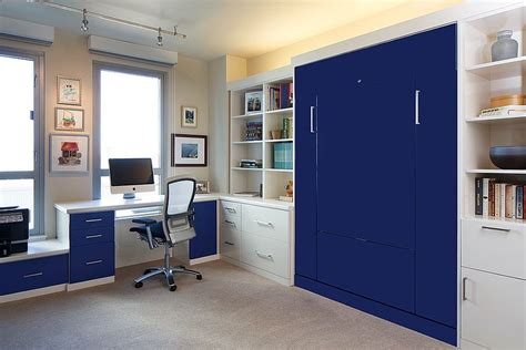 Built In Bedroom Wall Units by 25 Versatile Home Offices That Double As Gorgeous Guest Rooms