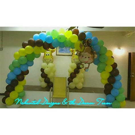 Jungle Theme Baby Shower Balloons by 31 Best Balloon Arches By Blitz Images On