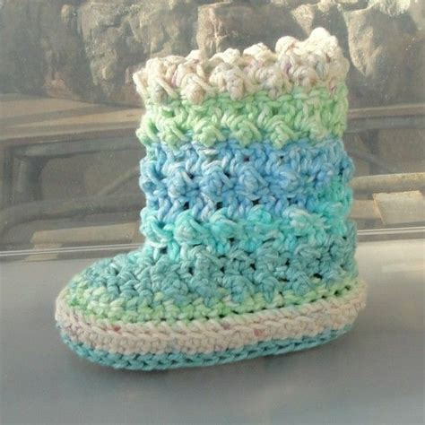 crochet pattern on etsy instant download crochet pattern baby raindrop boots