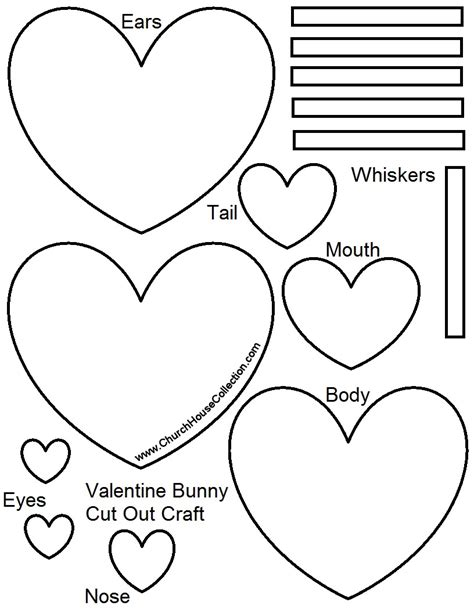 Church House Collection Blog January 2016 Printable Craft Templates