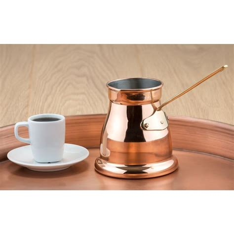 Coffee Warmer 1 5 pt decor copper turkish coffee pot butter warmer 886 the home depot