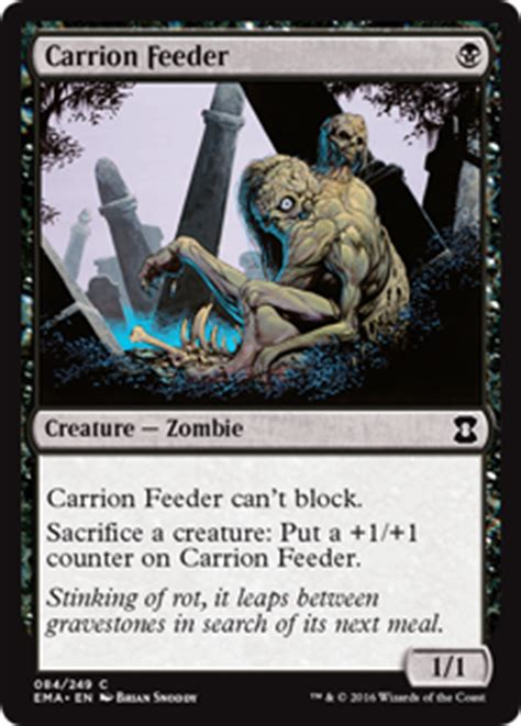 Carrion Feeder card search search gatherer magic the gathering