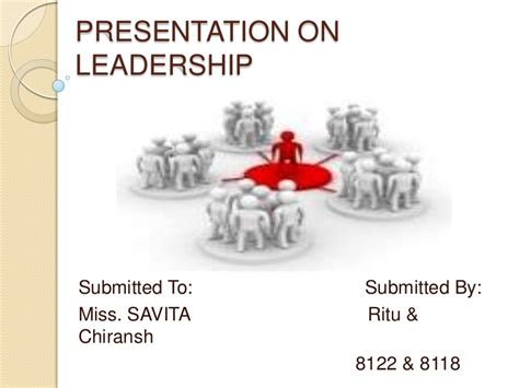 Presentation On Leadership Powerpoint Presentation On Leadership Free