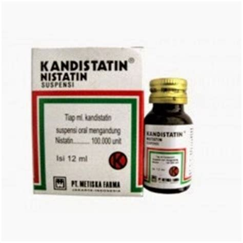 Obat Nystatin dosis obat kandistatin sirup suspensi nistatin daftar dosis obat