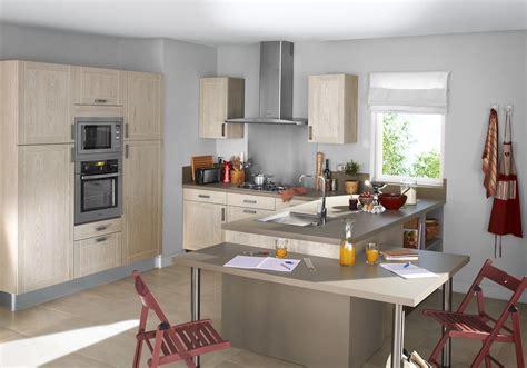 Modele Deco Cuisine cuisine lapeyre nos mod 232 les de cuisine pr 233 f 233 r 233 s