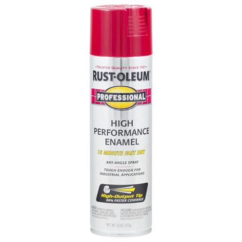 shop rust oleum professional regal enamel spray paint actual net contents 15 oz at lowes