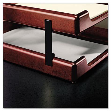 wood desk letter tray rol23386 rolodex wood tones letter legal desk tray