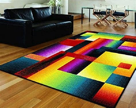 Bright Multi Colored Area Rugs A Bright Multi Colored Area Rug Funky Area Rugs Pinterest Bright And Spaces