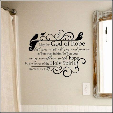 Christian Bathroom Wall