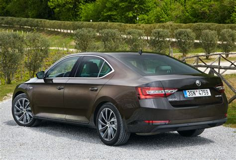 skoda superb laurin škoda superb laurin klement 2015 н в