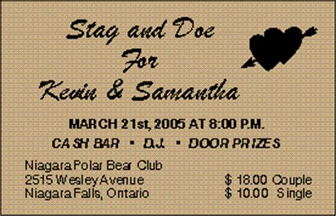 stag tickets template stag doejack