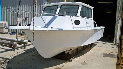 boat transom cut out 25 sport cabin cut transom chawk boats