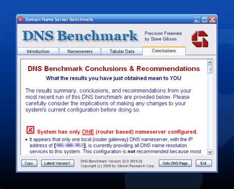 dns bench dns benchmark descargar