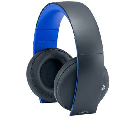 Headset Sony Ps3 buy sony playstation wireless stereo 7 1 gaming headset free delivery currys