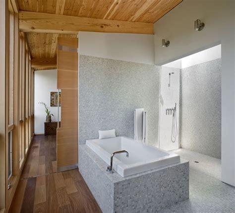 Modern Cottage Bathroom Gorgeous Bathroom In Modern Cottage Design Sebastopol Residence With White Tub Olpos Design