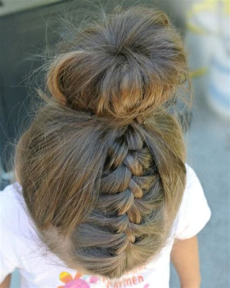 onion bun hairstyle french braid and sock bun hairstyles how to