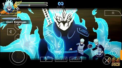 naruto shippuden ultimate ninja storm  mod offline android ppsspp