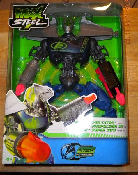 n tek figure mattel max steel n tek adventures jet blaster cytro figure