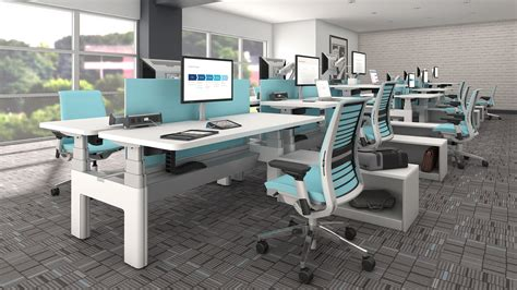 bench workstations series bench by steelcase hbi inc blog