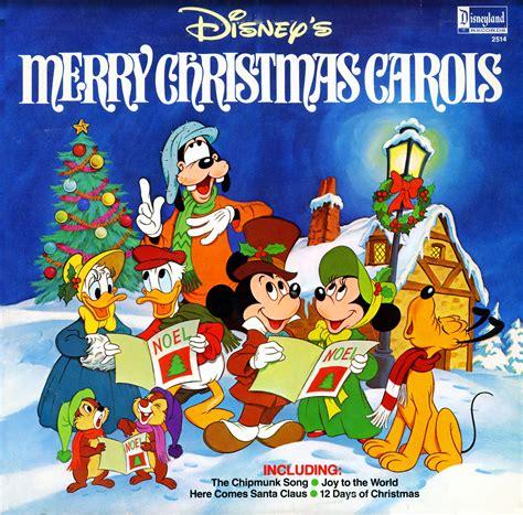 disney merry christmas carols disneyland records  christmas lps  cd operated  dlf