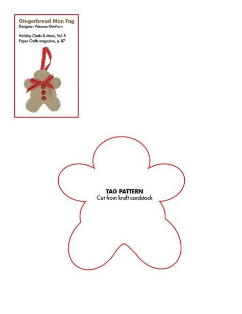 free printable gingerbread man labels pinterest the world s catalog of ideas